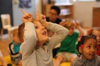 Children develop their social emotional skills through play