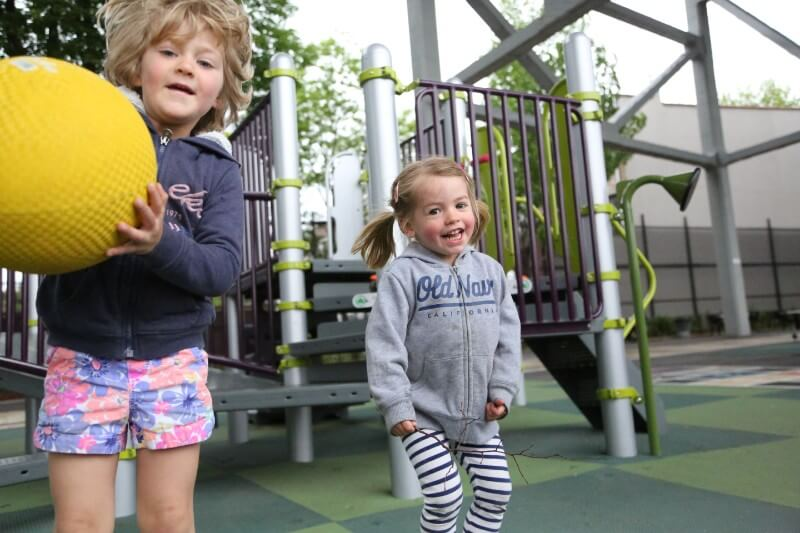 Children learn discovery socialization through physical activity