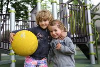 Children learn social life skills through physical activities