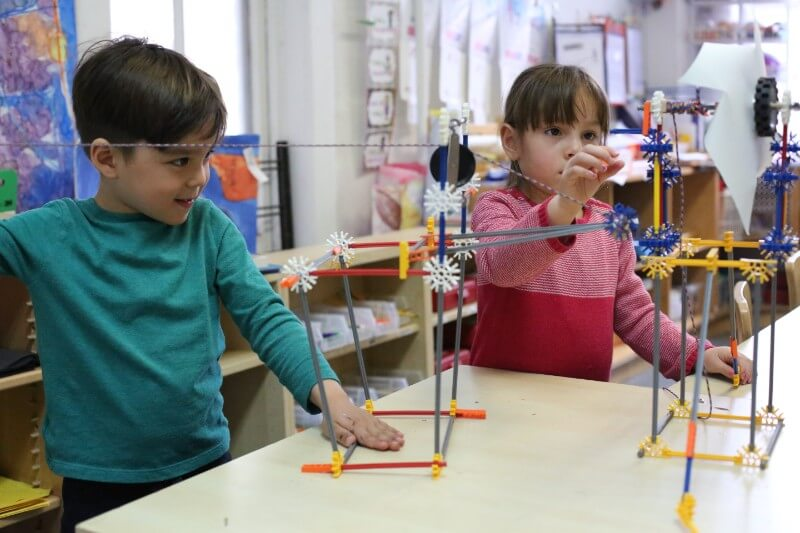Toys provide students spatial skill & offer a foundation for learning subjects like math & science