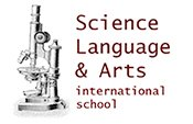 Science, Language & Arts International School Logo